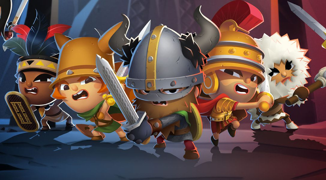 World of Warriors, from the creator of Moshi Monsters, is coming to PS4