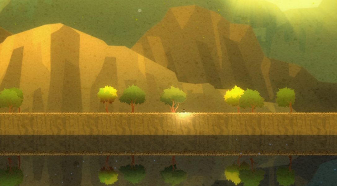 Screen-bending puzzle platformer Four Sided Fantasy announced for PS4