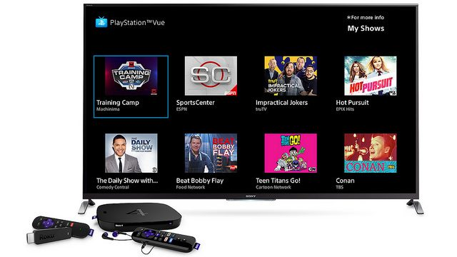 PlayStation Vue Expands to Roku Today, Launching on Android Next Week