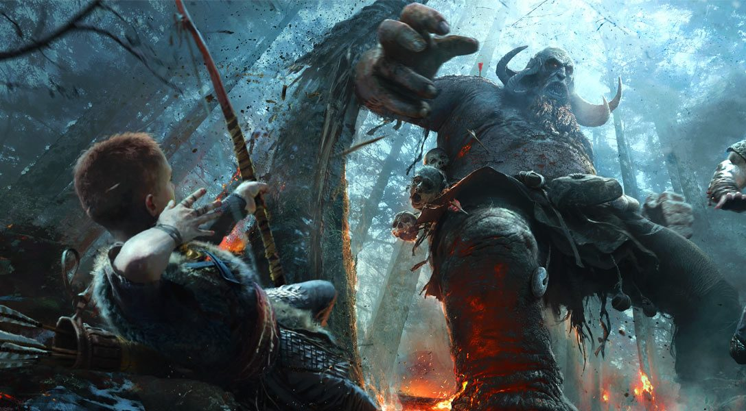 New God of War video offers a closer look at the E3 2016 reveal