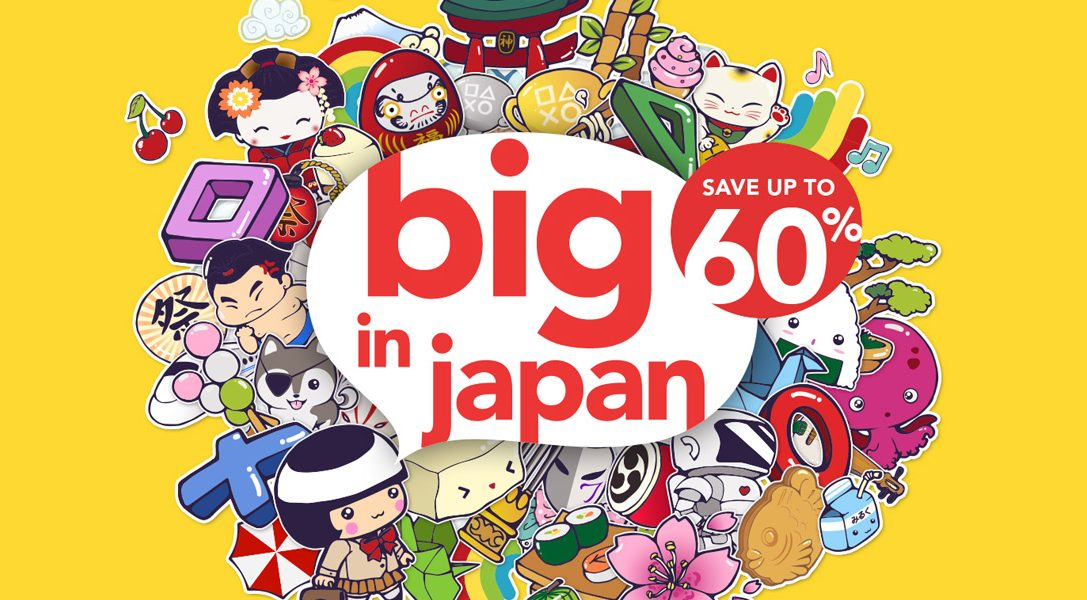 PlayStation Store 'Big in Japan' discounts start today