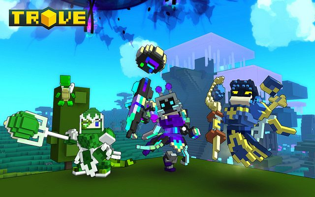 Trove Brings MMO Action, Voxels to PS4 in 2016