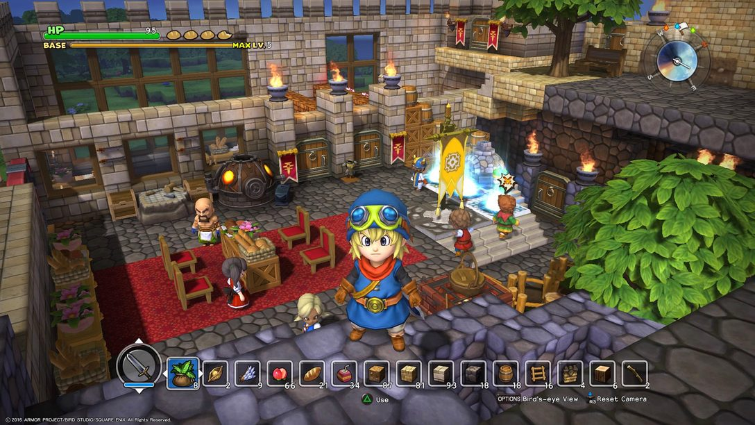 Dragon Quest Builders Launches October 11 on PS4, PS Vita