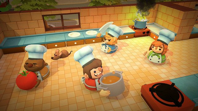 Travel Across Space and Thyme in Overcooked, Out August 3 on PS4
