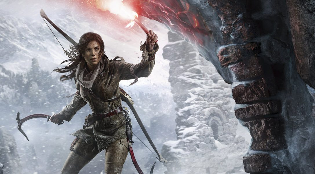Rise Of The Tomb Raider Arrives On Ps4 This October With New Ps Vr Mission Playstation Blog