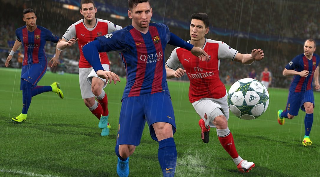 PES 2017 – FC Barcelona partnership unveiled, plus all-new trailer