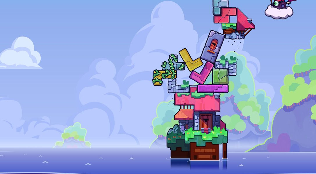Tricky Towers brings frenetic multiplayer action to PS4 on 2nd August