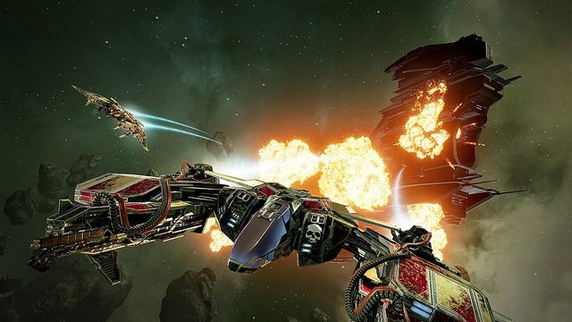 Your Eyes Are Weapons in Eve: Valkyrie on PlayStation VR