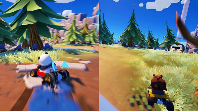 Bears Can't Drift Races onto PS4 on August 30