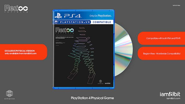 Rez Infinite Gets a Physical Release, Vinyl Soundtrack, Art Book, T-Shirt & More
