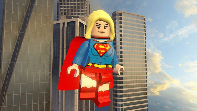 Supergirl Lands in LEGO Dimensions on PS4
