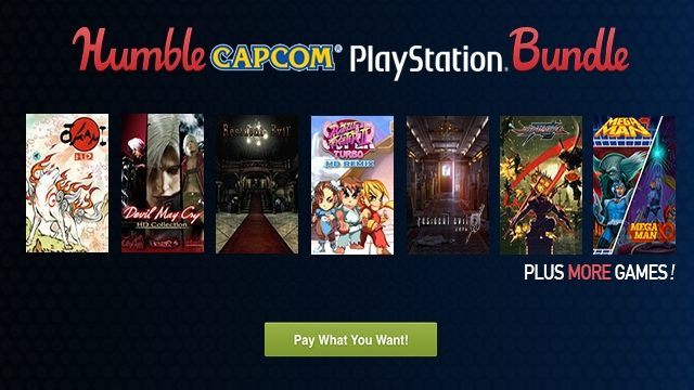 Humble Capcom PlayStation Bundle Available Today