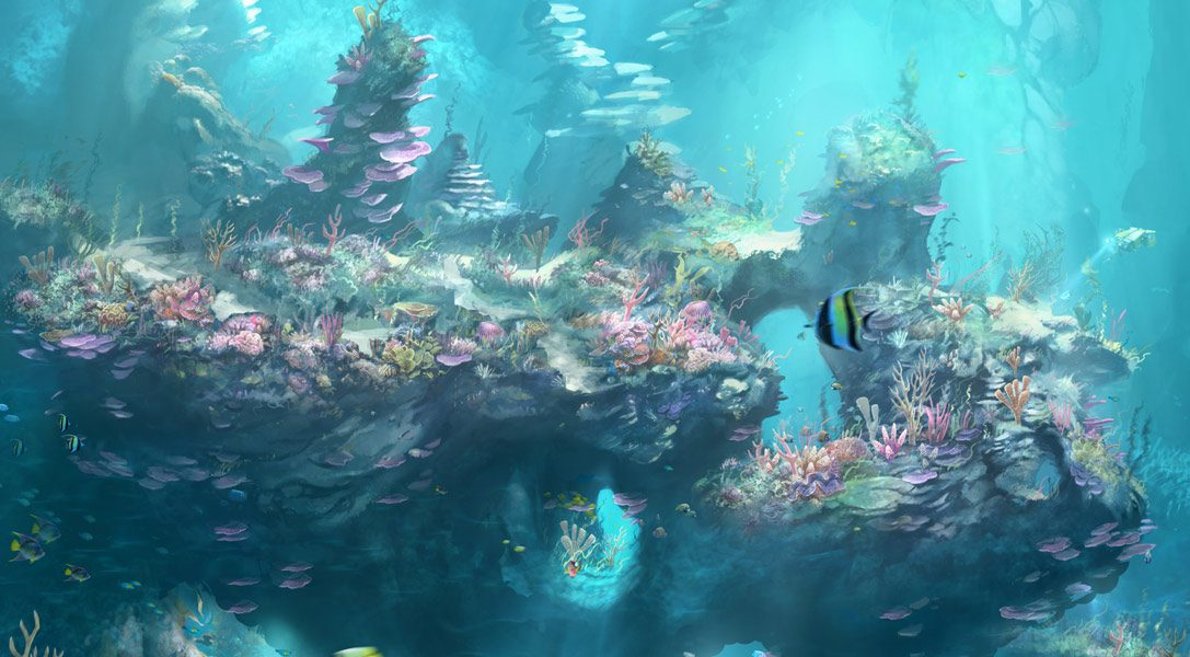 How PlayStation VR Worlds was brought to life with extraordinary art