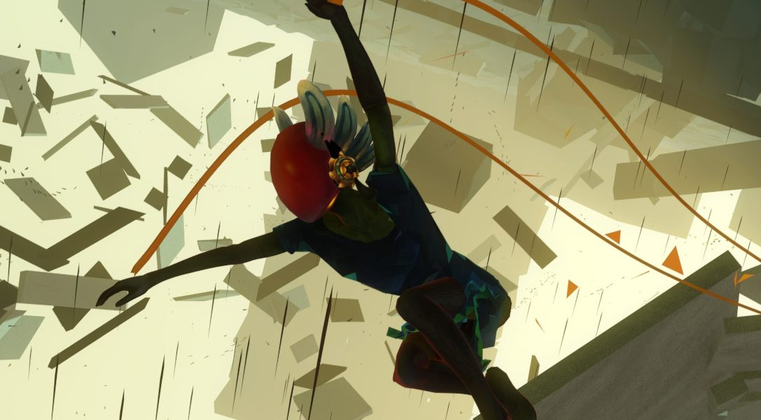 Repair a broken world through dance in Bound, out today on PS4