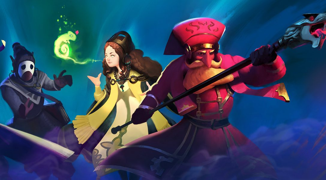 Co-op wizard 'em up Nine Parchments announced for PS4