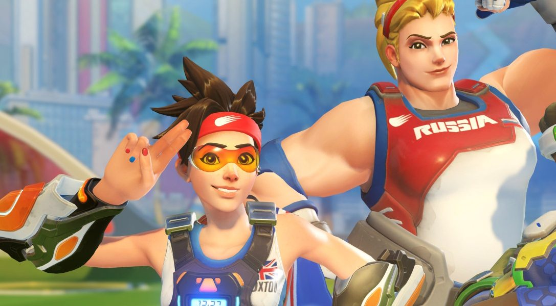 Celebrate Overwatch's Summer Games from today with Lúcioball