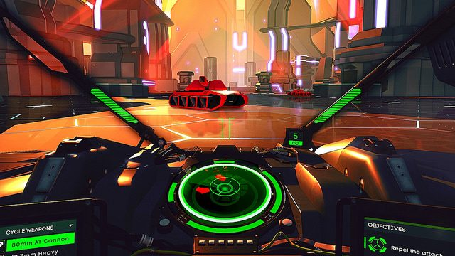 The PS VR Sessions: Battlezone
