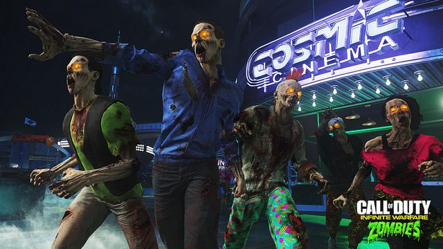 First Impressions: Zombies in Spaceland, COD Infinite Warfare's Neon Playground