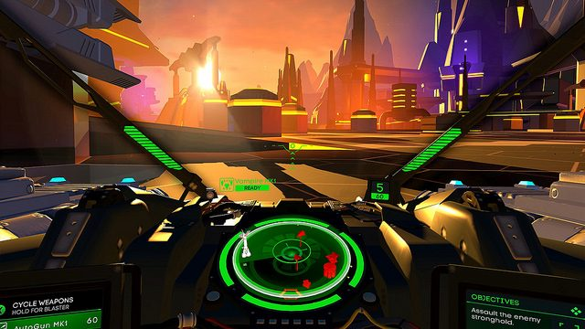 Building a Virtual Cockpit in Battlezone on PS VR