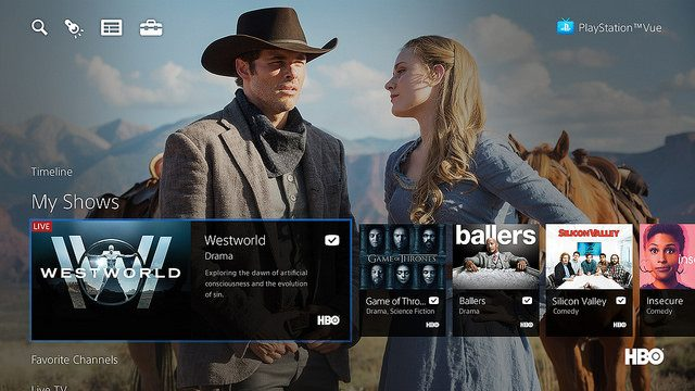 PS Vue: HBO, Cinemax, New Ultra Plan Arrive Today