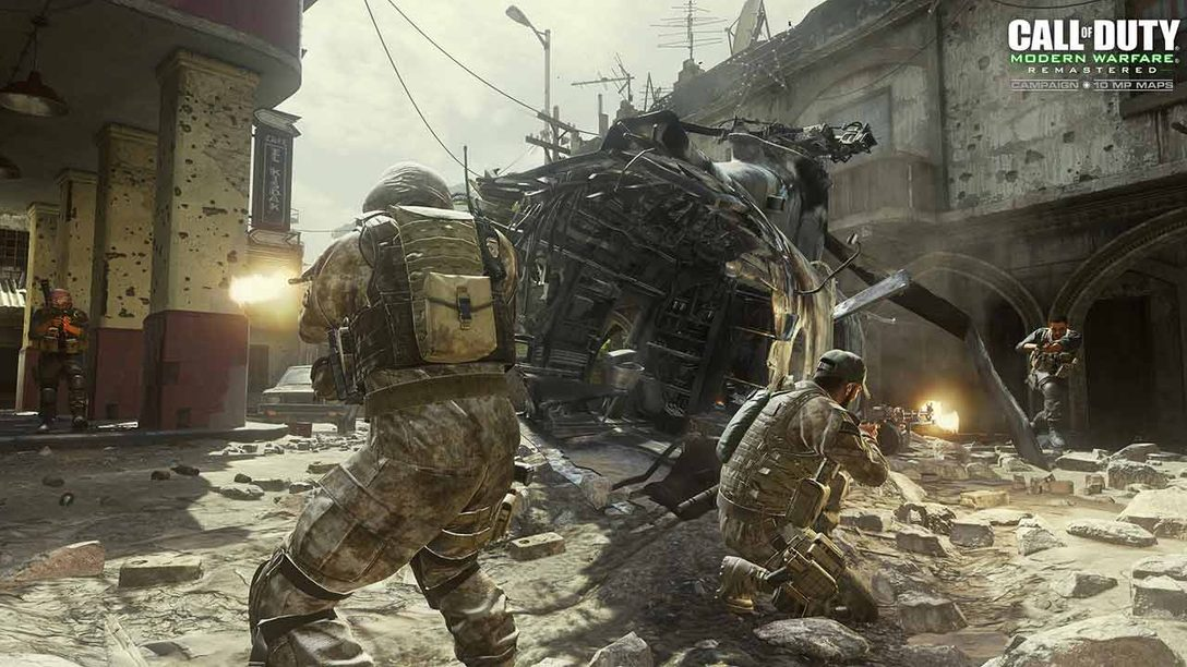 First Impressions, Trailer: Modern Warfare Remastered Multiplayer on PS4