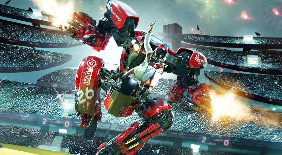 RIGS Mechanized Combat League goes gold
