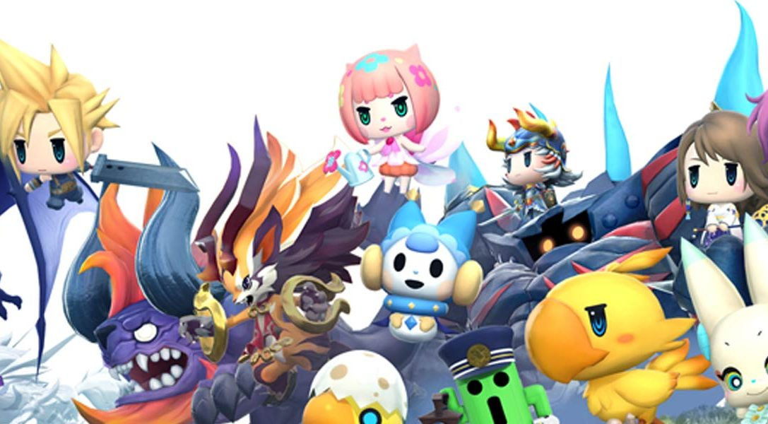 Welcome to the World of Final Fantasy's TGS 2016 trailer