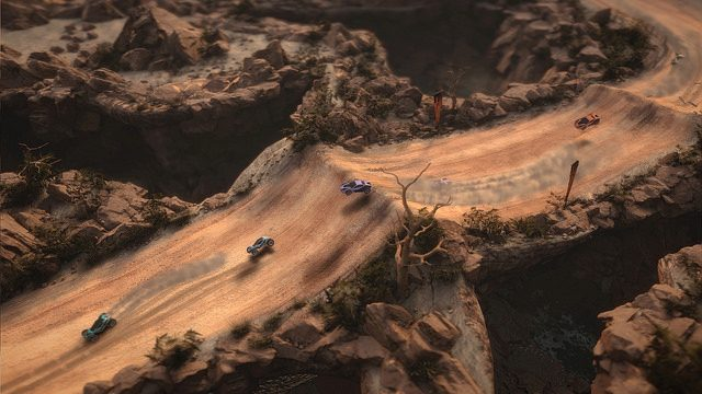 Mantis Burn Racing Brings Top-down Arcade Action to PS4 October 12