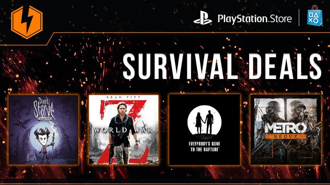 Flash Sale Now: Survival Deals