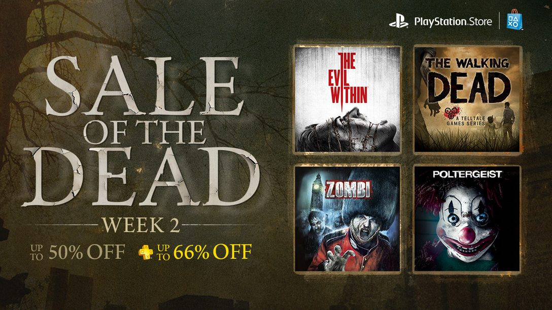 Sale of the Dead Week 2: The Evil Within, The Walking Dead, and More