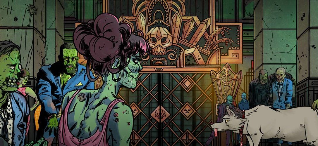 Coffin-rocking musical adventure game Wailing Heights announced for PS4
