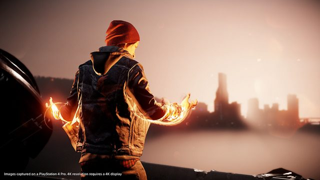 Infamous Second Son & First Light Showcase Power of PS4 Pro