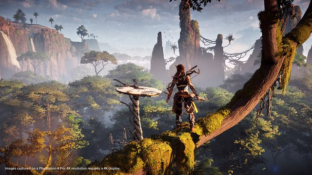 How PS4 Pro Enhances Horizon Zero Dawn