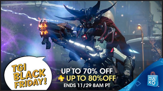 Black Friday Starts Now at PlayStation Store