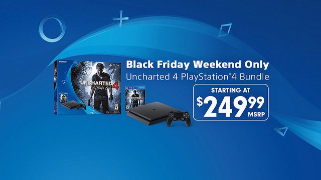 Black Friday Weekend Deal: $249.99 Uncharted 4 PS4 Bundle
