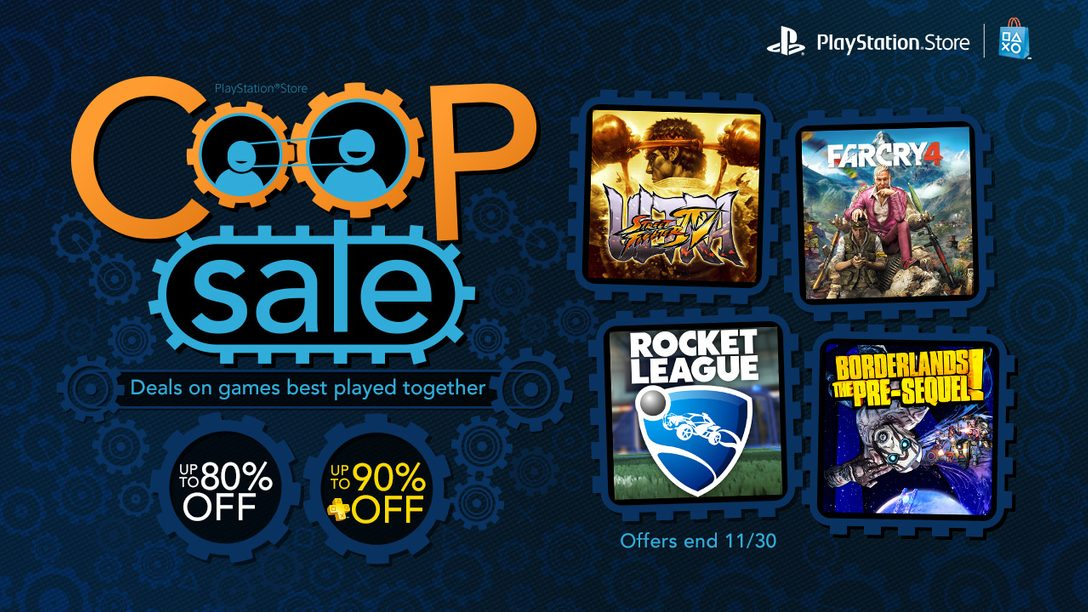 Co-op Sale: Up to 80% Off Borderlands, Rocket League and More