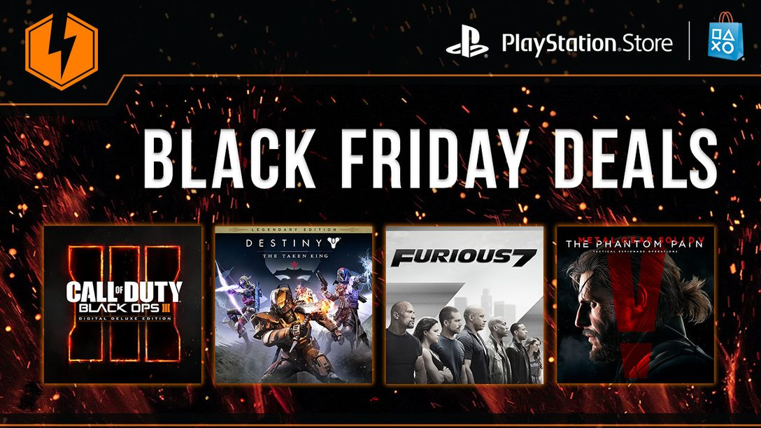 Black Friday Deals on AAA Titles, Blockbuster Movies and More