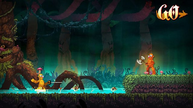 Goofy and Gross Battles Abound in Nidhogg 2, Out Next Year on PS4