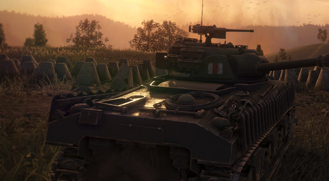 World of Tanks: enhancing the field of battle with PS4 Pro