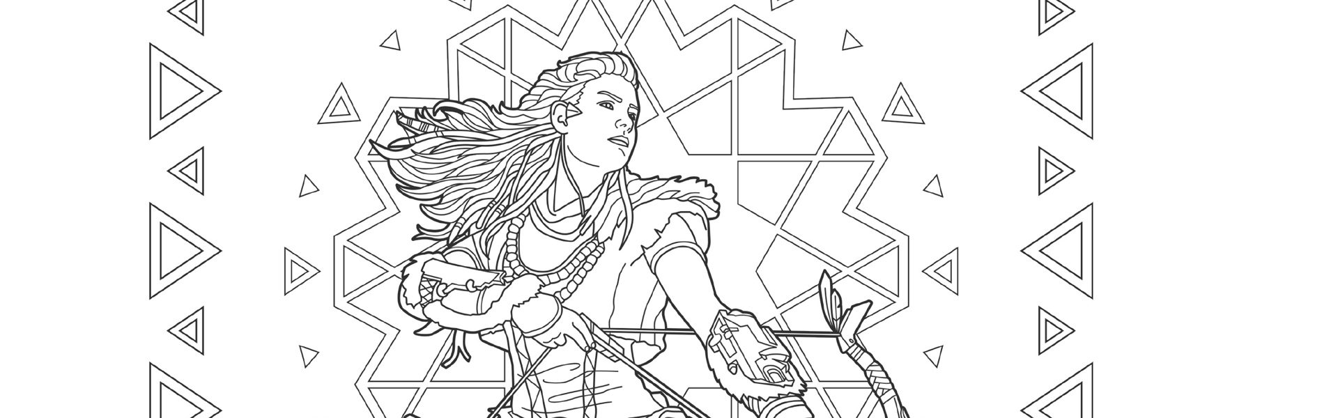 Get creative with PlayStation colouring book, Art For The