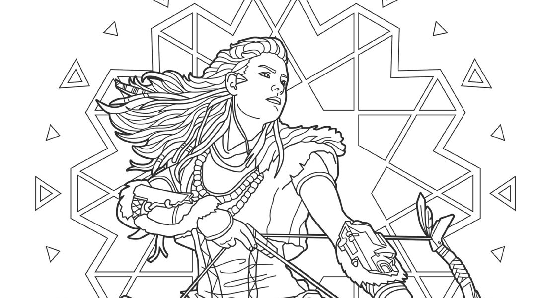 Get creative with PlayStation colouring book, Art For The Players, out today