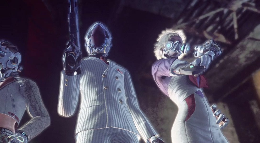 The eccentric friends and deadly foes of Let It Die on PS4