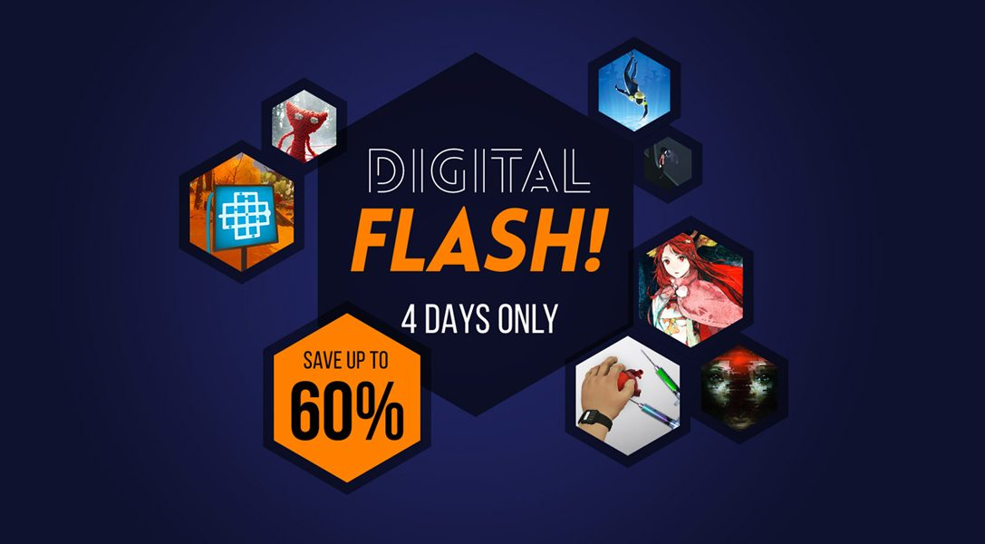 PlayStation Store's 'Digital Flash' discounts start today