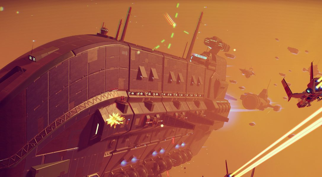 No Man's Sky update adds base building, new game modes and freighters