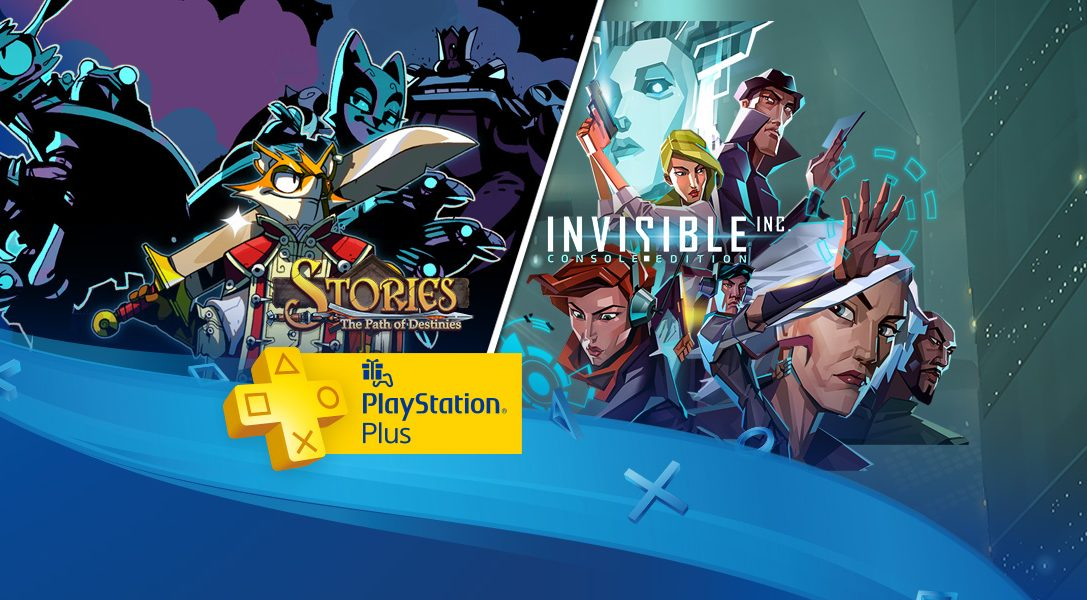 PlayStation Plus in December: Invisible Inc., Stories: The Path of Destinies, more