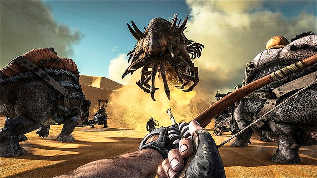 Ark: Survival Evolved Out Today on PS4