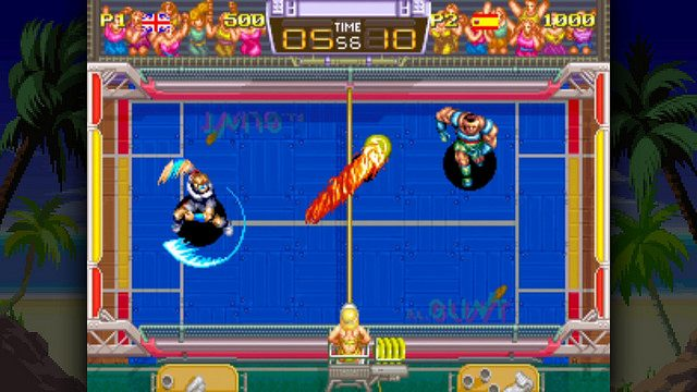 Windjammers Returns on PS4 and PS Vita with Online Multiplayer