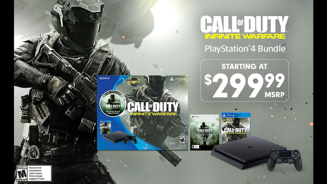 Call of Duty: Infinite Warfare PS4 Bundle Launching Next Week