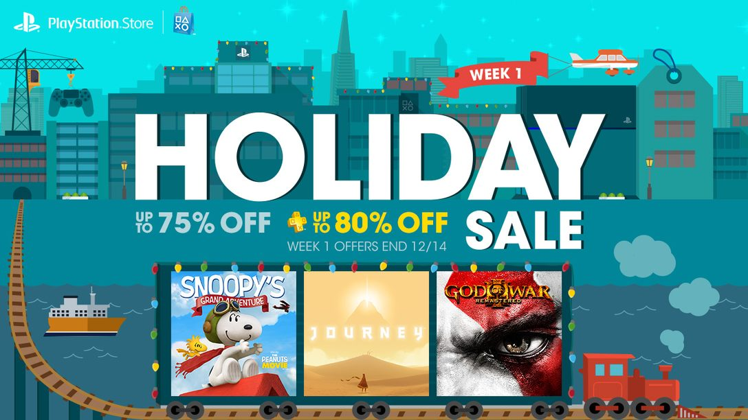 Holiday Sale: Save Big with 4 Weeks of Limited-Time Deals