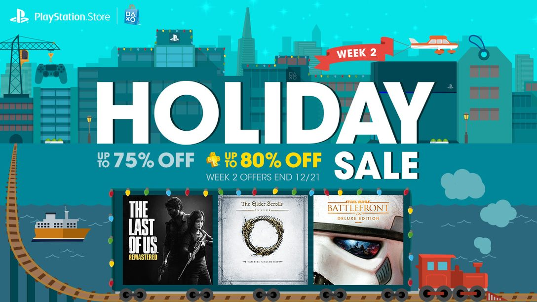 Holiday Sale Week 2: Star Wars Battlefront Deluxe, The Last of Us